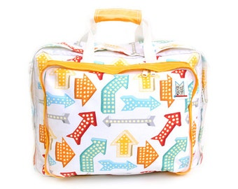 Arrow Print Bedford Bag 3 way Backpack, Over-the-shoulder, Tote
