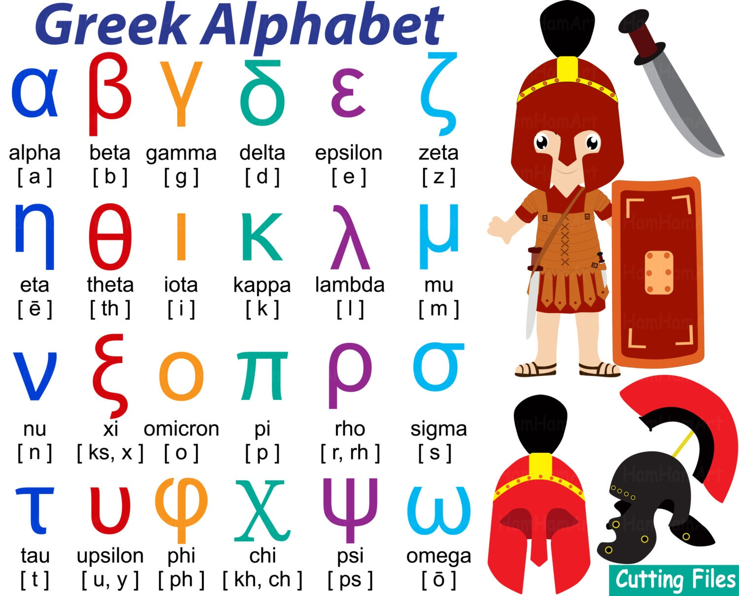 Greek alphabet mathematic symbols cutting files svg dxf eps zoom biocorpaavc Choice Image