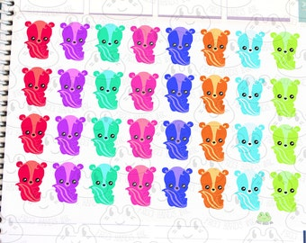 Kawaii Planner Baby Skunk Stickers
