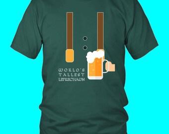 Worlds Tallest Leprechaun   Saint Patricks Day T-Shirt   St Pats T-Shirt   Funny   Gift