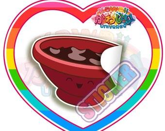 Kawaii Cute Soy Animnos Sauce Sticker