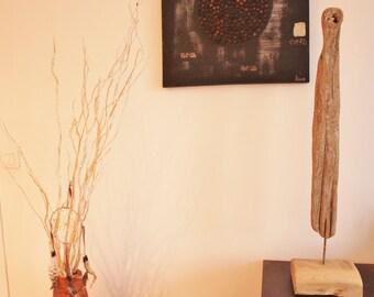 "Sculpture ""Treasure trove of wreck"" Driftwood"
