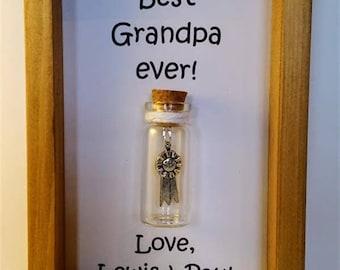 Grandpa gift, Gifts for grandpa, Grandpa, Personalised grandpa gift Grandpa. Add names or your own message.