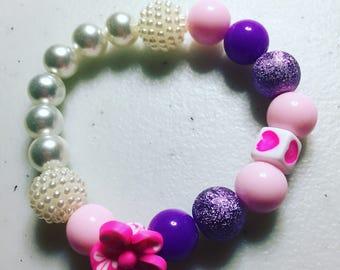 Spring love bracelet