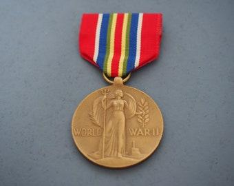 WW2 US Mercantile Marine Victory Medal 1941-1945