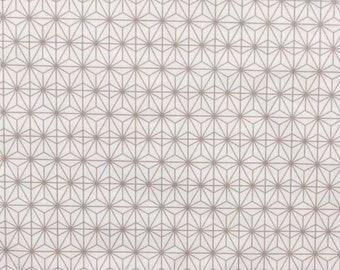 fabric, Crystal, 280 cmL, geometric, stars, Sun East, design, Scandinavian, Japanese patterns