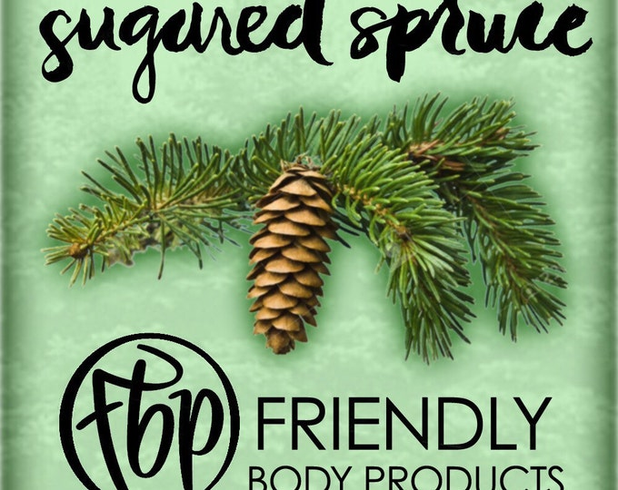 Soy Candle - Sugared Spruce Candle