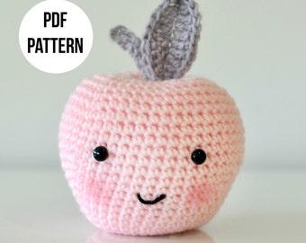 Crochet Apple PDF Pattern
