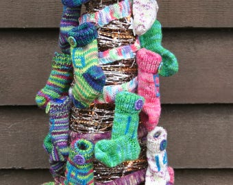 PDF download - Advent Sock Tutorial