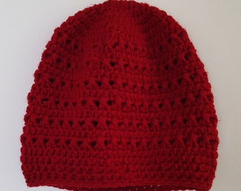Slouchy Crocheted Hat
