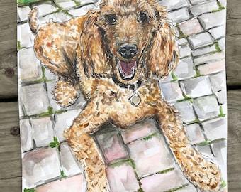 Watercolor Pet or Animal Portraits