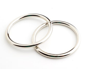 40mm Metal O-ring, Non-welded - Nickel (Qty 25)