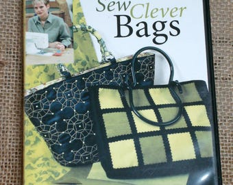Sewing with Nancy - Sew Clever Bags - SN1917D - By Nancy Zieman *FREE SHIPPING*