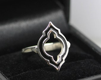 Laila Ring in Silver or Rose Gold Vermeil