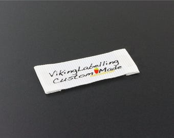 Clothing Labels, Washing Care Labels, Custom Cloth Labels, Printed Satin Tags, Tags for Clothing, Baby Name Labels, Clothing Tag, Free Ship.