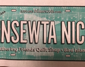 2018 Row by Row License Plate - Gathering Friends