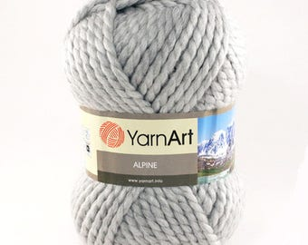YarnArt ALPINE 45 wool 55 acrylic yarn - Colour choose - wool yarn - blanded wool acrylic yarn - winter yarn - soft yarn