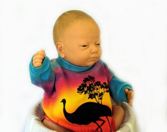 Australian Sunrise for your New Born Baby-Photo Prop Shirt