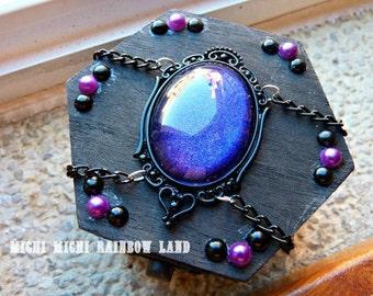 LAST ONE! Purple Dreams Gothic Mini Box Chest