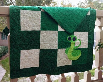 Harry Potter Slytherin Quilt