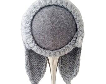 PDF Newborn Hat Knitting Pattern, The Hasi Bonnet Sized Newborn