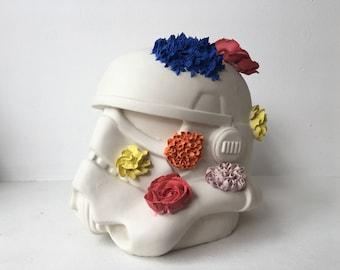 Storm trooper sculpture