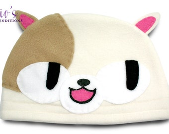 Adventure Time - Cake Hat / Fleece Hat / Winter Hat / Adventure Time Hat