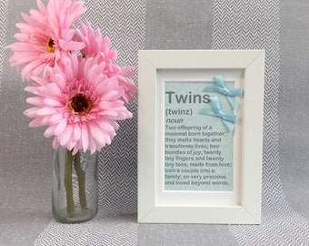 Twin Boy Gift - Twin Boys Baby Gift - Twins Baby Shower - Twin Baby Shower - Twin Boys - Twin Baby Gift - Twins Gift - Twin Brothers - Twins