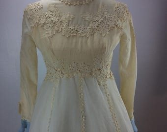1960's Alfred Angelo by Edythe Vincent Wedding Dress