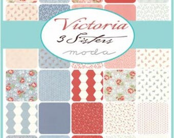 Victoria by 3 Sisters- 34 x Fat 8ths Bundle