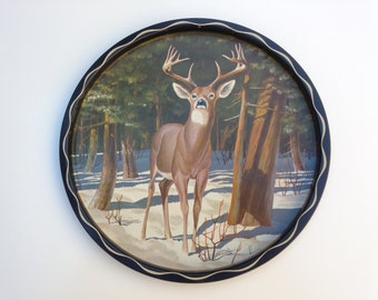 Deer Decorative Tray