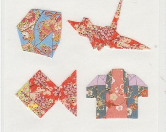 Japanese Origami Paper Stickers - Reference L6730-31L6737