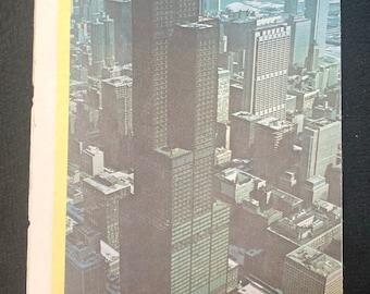 Vintage Sears Tower Brochure