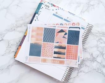 Metallic Splash ESSENTIALS Planner Sticker Kit (3 Sheets) - For Erin Condren Vertical Life Planner