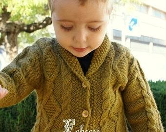 b9db6e998 Blue wool sweater boys peruvian wool winter cardigan