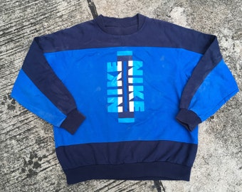 Vintage Nike FORCE Reversible Shirt Grey Tag 90s Rare Colorway zaj9ztlZ6C