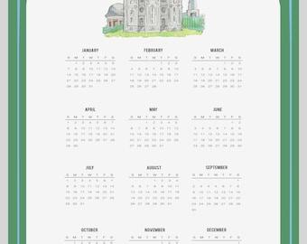 Year 2018 calendar   Etsy