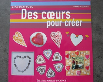 "Book ""the hearts to create"" creatouts - hobby"