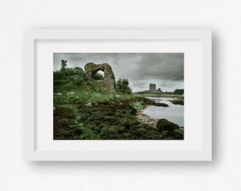 Large Size Photography Print - Ireland Landscape Travel Photography Irish Scenery Fine Art Wanderlust Irish Castle Ruin