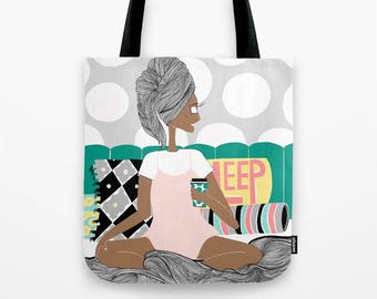 Breakfast in Bed Tote
