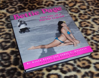 Bettie Page The Life of a Pin-Up Legend Hardcover 1996 First Edition