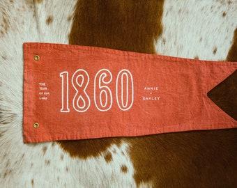 1860 + Year of Annie Oakley