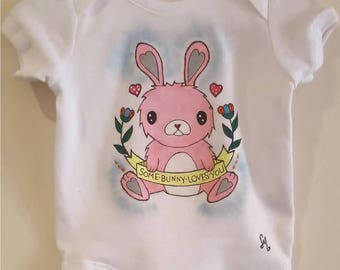 Some Bunny Loves You Babygrow