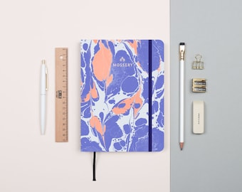 Lava Periwinkle Gold Foil Personalized Notebook/Sketchbook