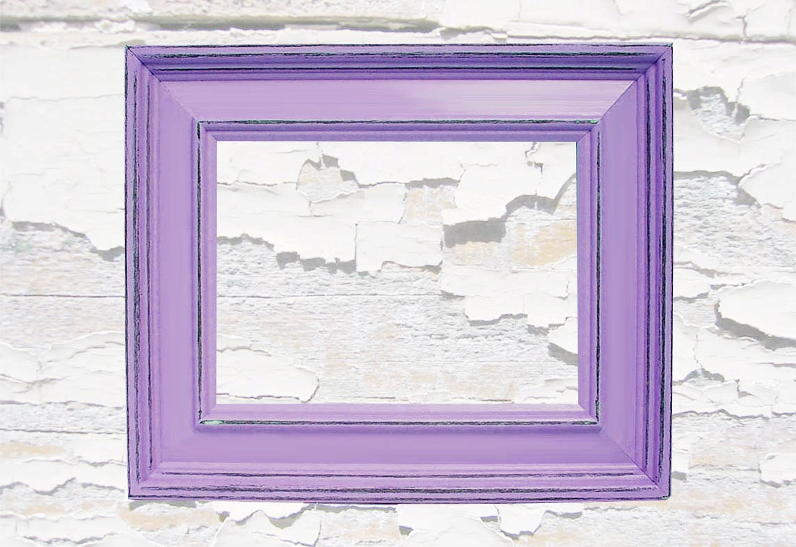 Shabby Chic Picture Frames Distressed Rustic Wood 5x7 Picture Frame ...