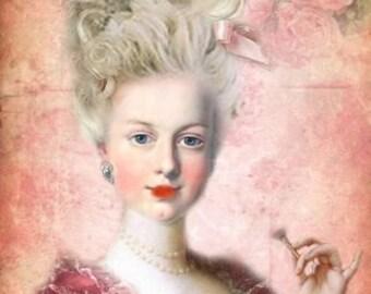 Fine Art Print of Marie Antoinnete