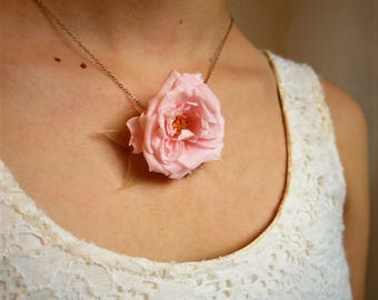 Everlasting Flower Necklace