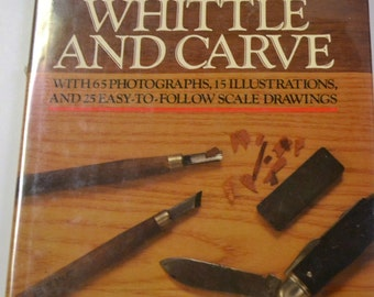 Vintage Book You Can Whittle and Carve