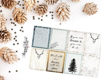 Full Boxes Dream boho planner stickers