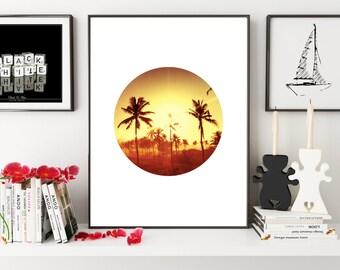 Palm Tree Print, California Wall Art, Palm Print, Palm Tree Art, Palm Wall Art, Tropical Art, Tropical Print, Tropical Wall Art, Wall Art